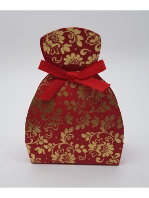 LC 007 Red Laser Cut Favour Box