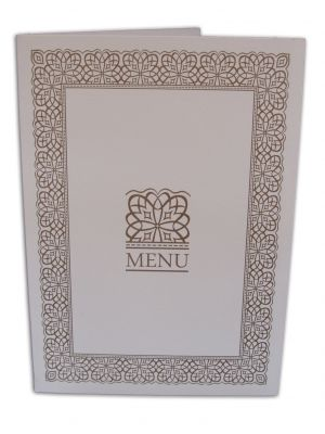 ABC 498 Table Menu