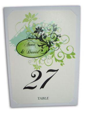 Table Card 114