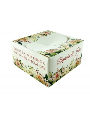 BTC 105 PERSONALISED FAVOUR BOX