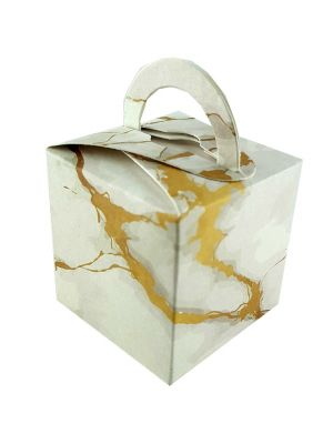 CHC White Marble Favour Box