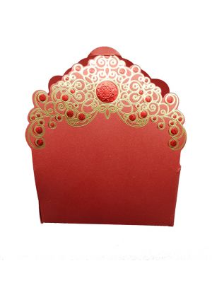 LC 021 Majestic Red Party Favour Box