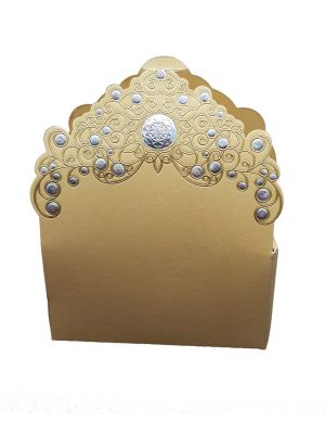 LC 022 Gold Favour box