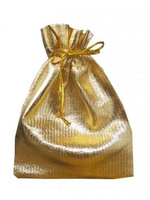 Shiny Gold favour bag