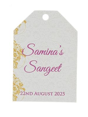 PERSONALISED TAG 302