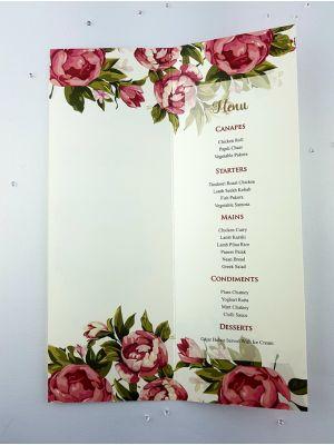 Fuchsia Rose Menu 232